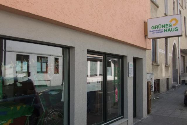 Das Grüne Haus in Ulm ist die Schalt- und Waltzentrale von Bündnis 90/Die Grünen in der Region Neu-Ulm, Ulm und Alb-Donau.